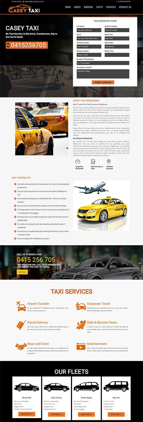 Casey Taxi Melbourne