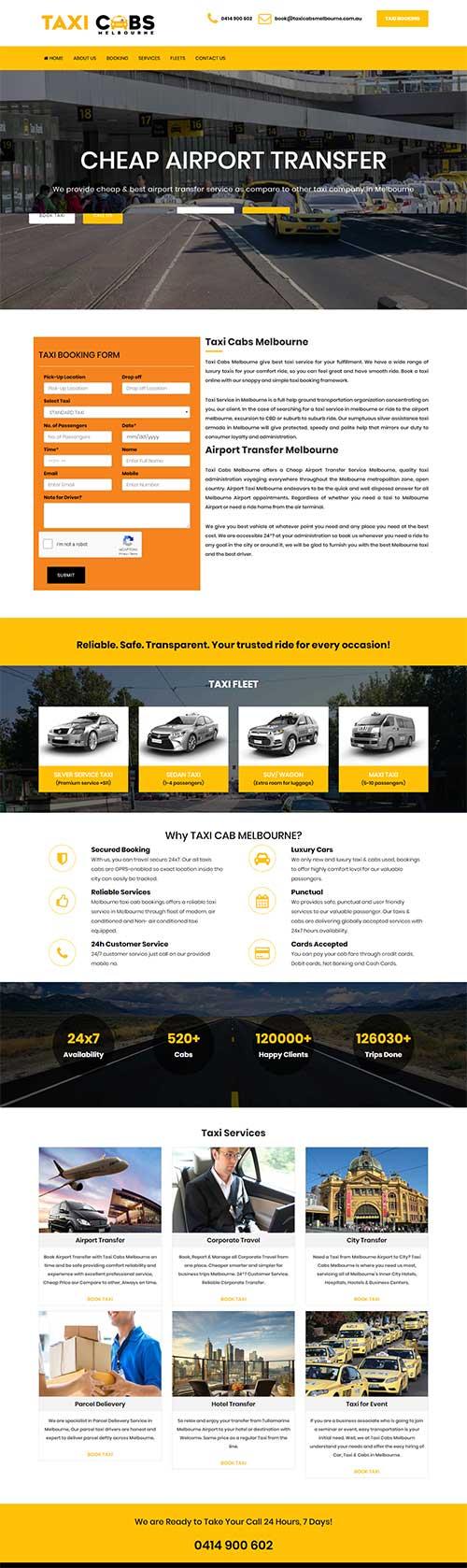 Taxi Cabs Melbourne