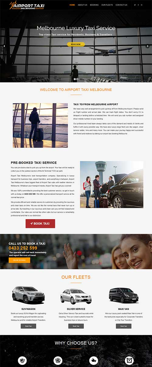 Airport Taxi Melbourne