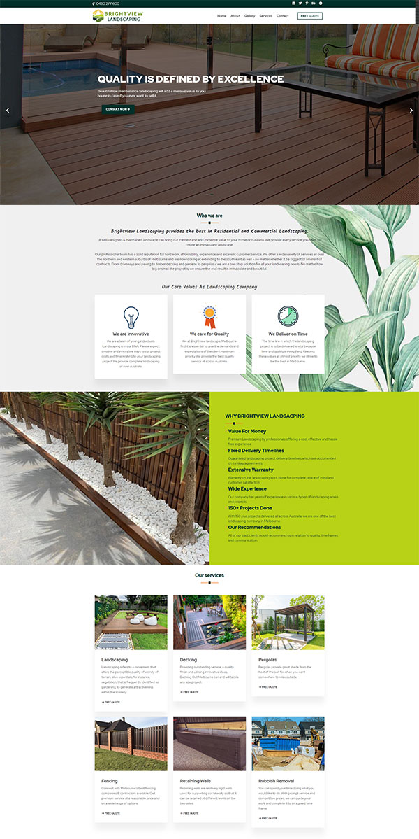 Bright View Landscaping